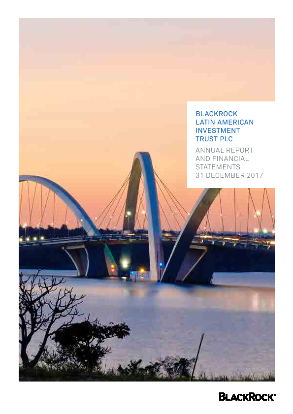 Blackrock Latin American Investment Trust   annual report