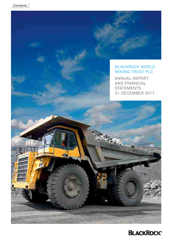 Blackrock World Mining Trust Plc   annual report