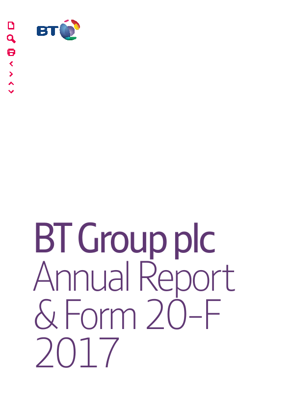 BT Group   annual report