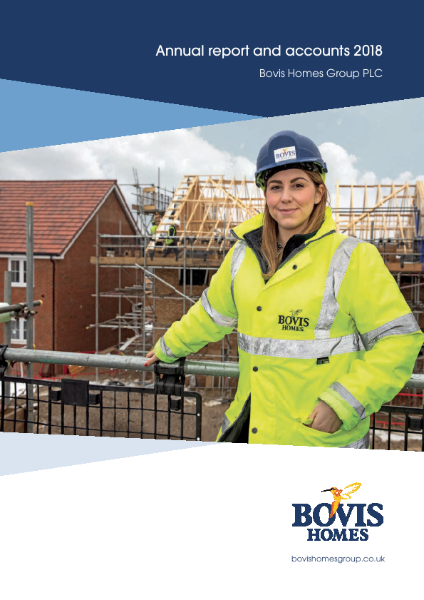 Bovis Homes Group   annual report