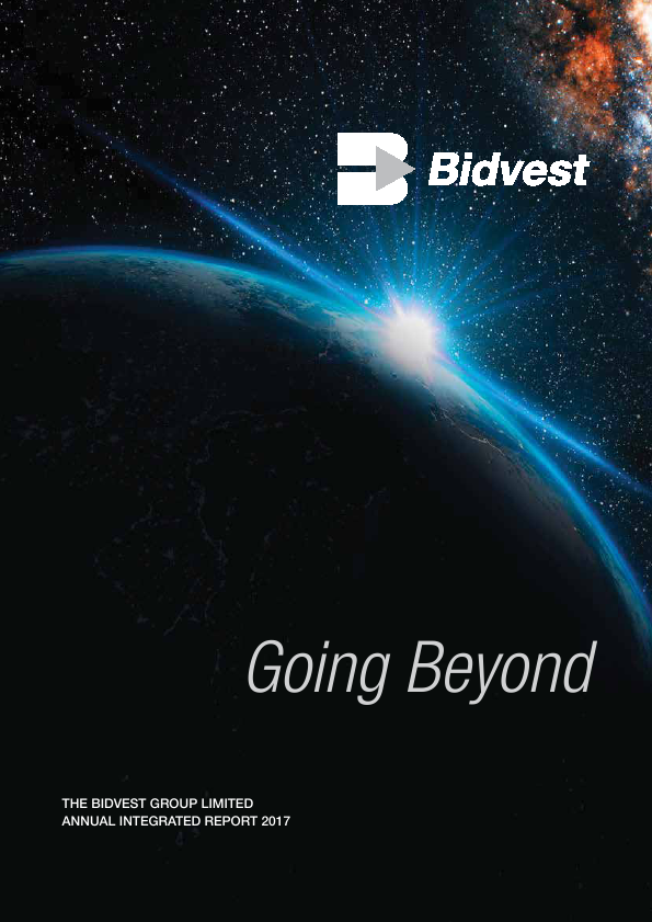 The Bidvest Group   annual report