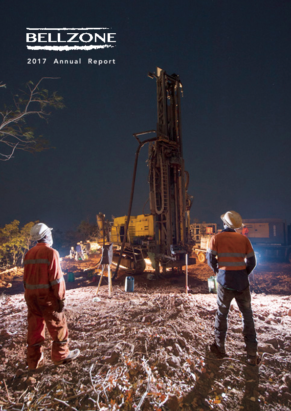 Bellzone Mining Plc   annual report