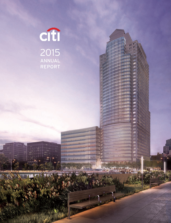 Citigroup   annual report