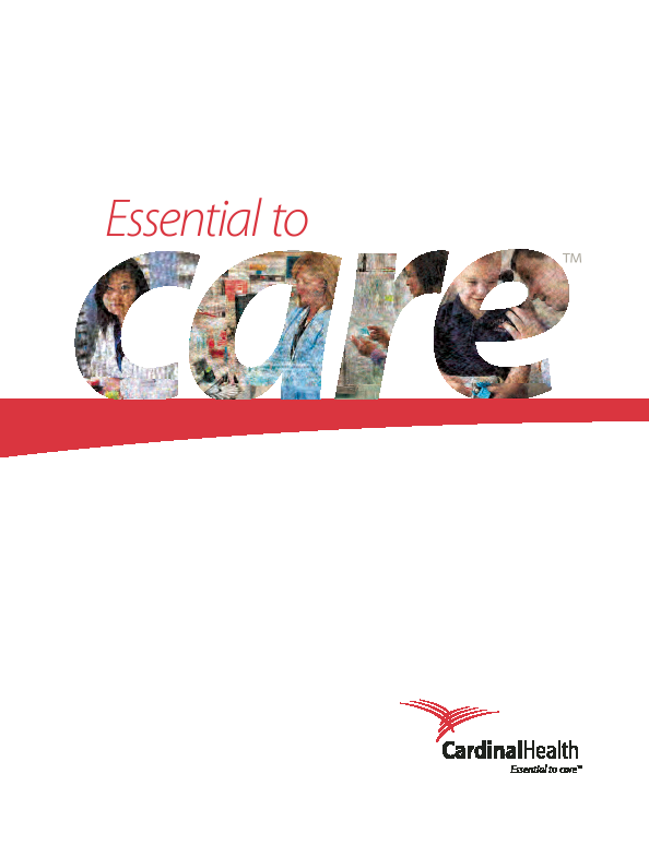 Cardinal Health   annual report