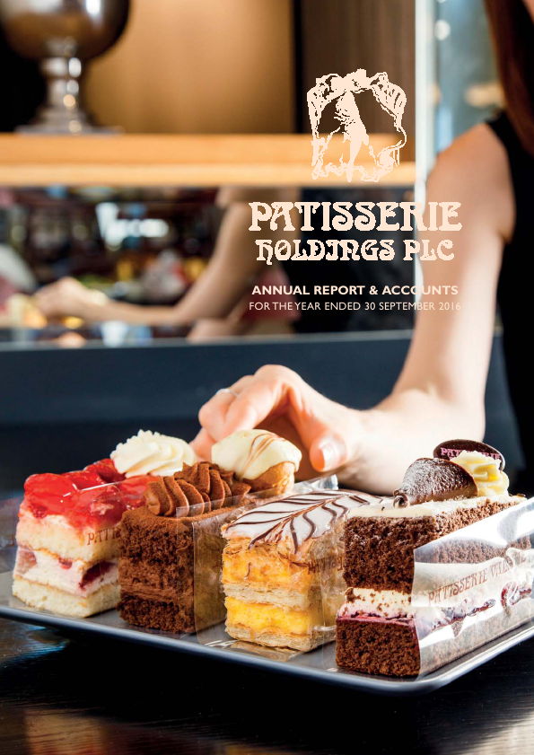 Patisserie Holdings Plc   annual report