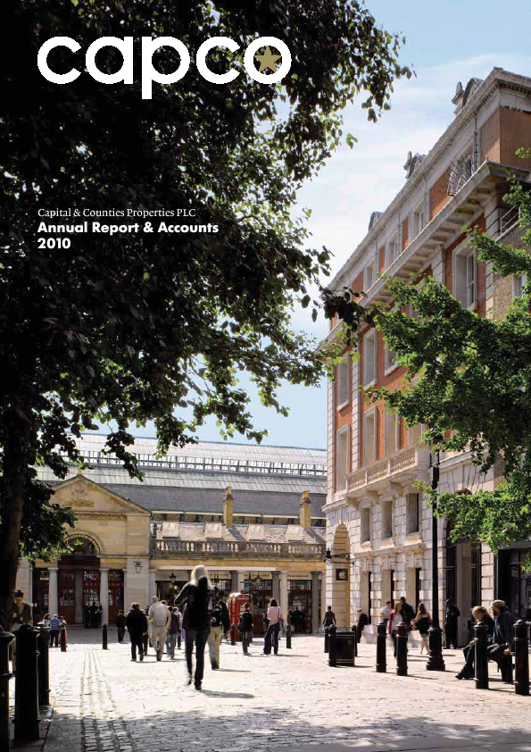 Capital & Counties Properties Plc   annual report