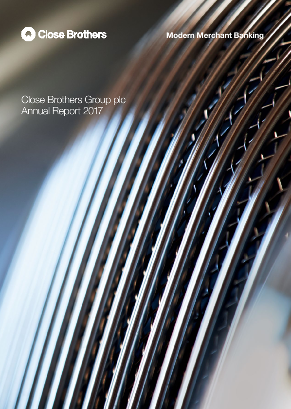 Close Brothers Group   annual report
