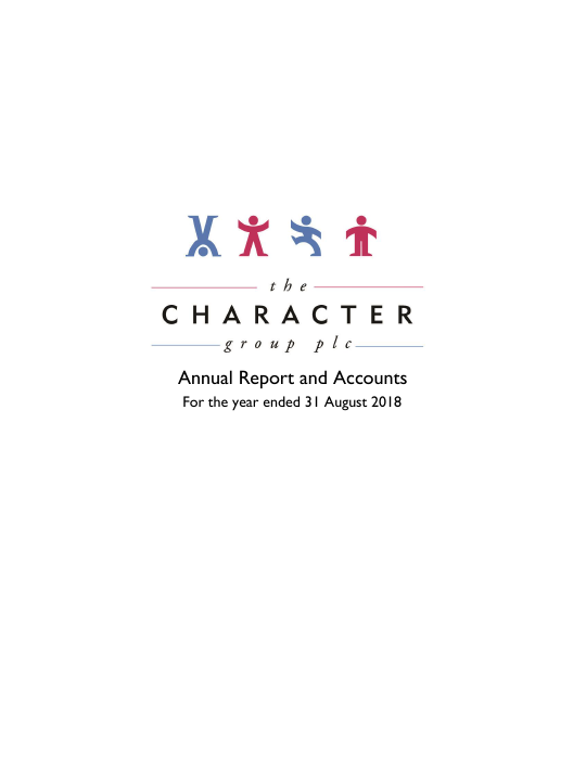 Character Group   annual report