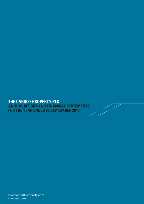 Cardiff Property   annual report