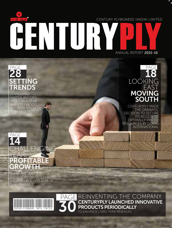 Century Plyboards (India)   annual report