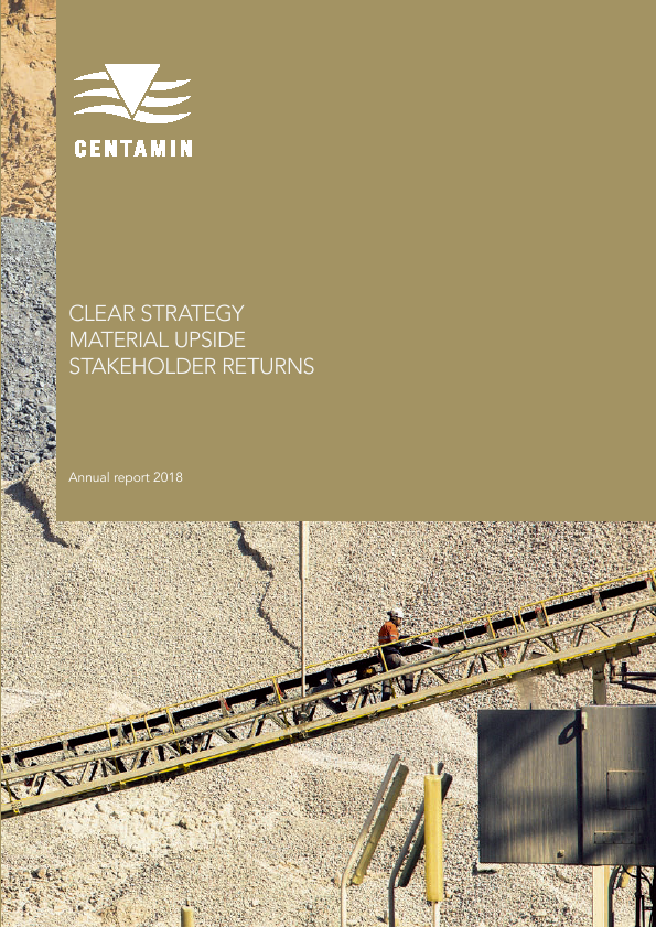 Centamin Plc   annual report