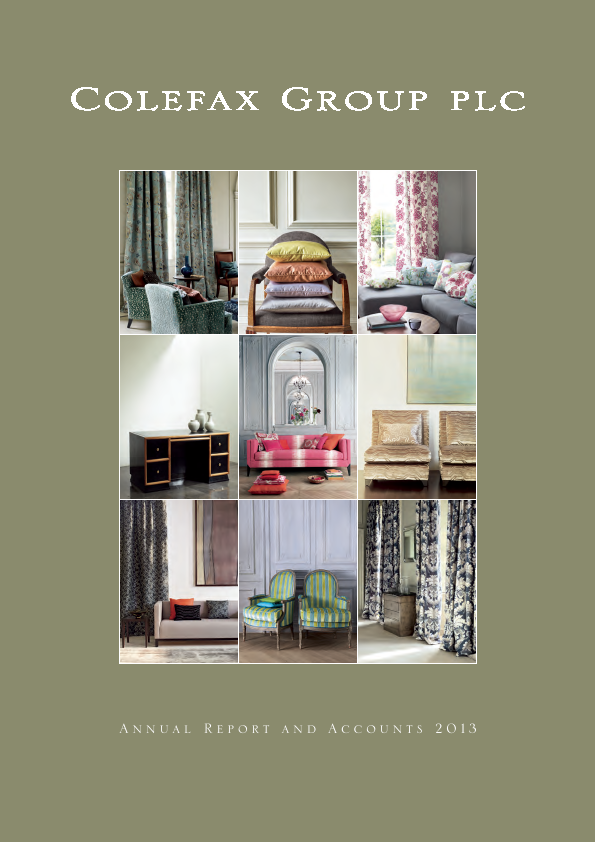 Colefax Group   annual report