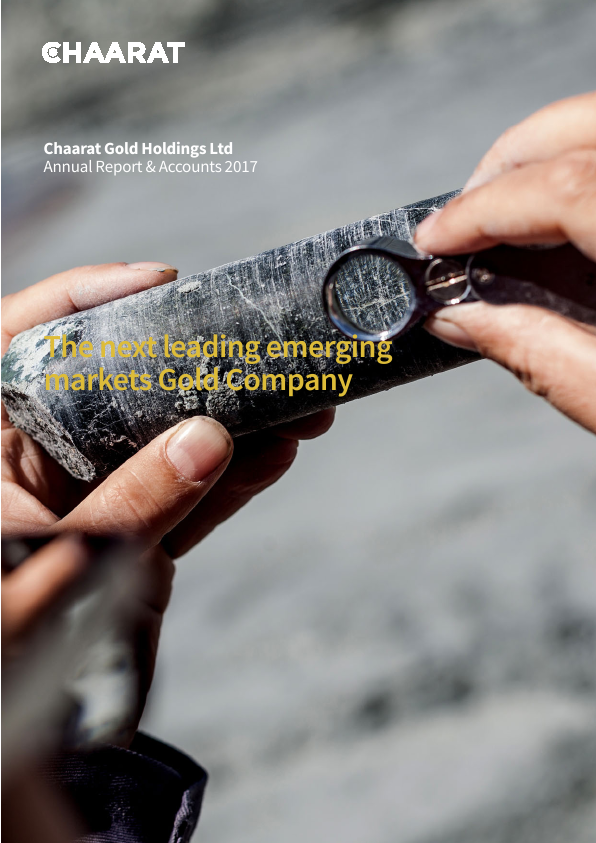 Chaarat Gold Holdings   annual report