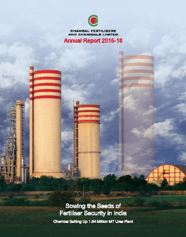 Chambal Fertilizers and Chemicals   annual report