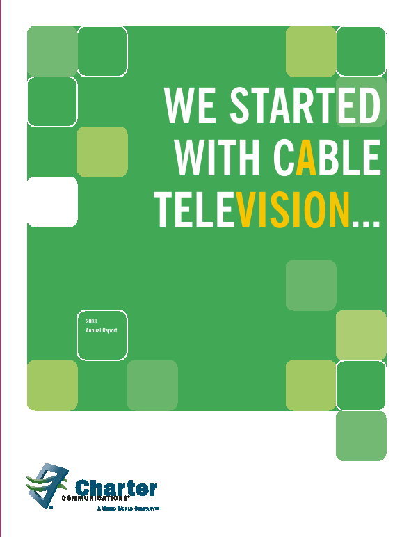 Charter Communications, Inc.   annual report