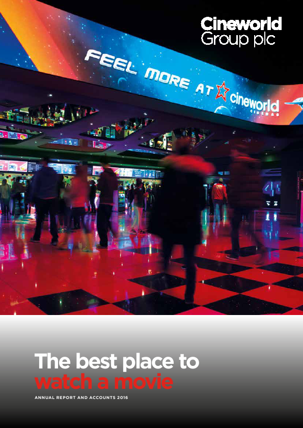 Cineworld Group   annual report