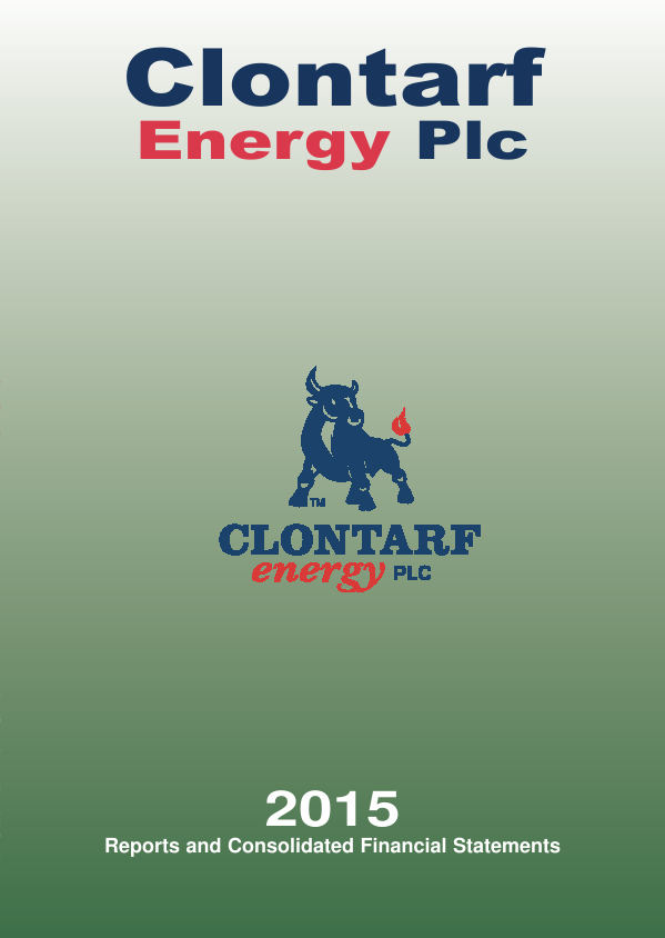 Clontarf Energy Plc   annual report