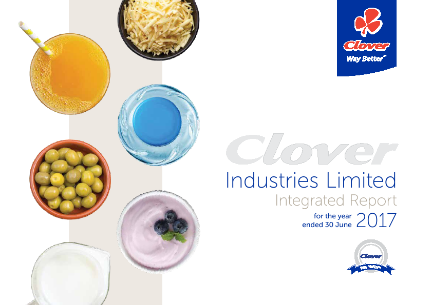 Clover Industries   annual report