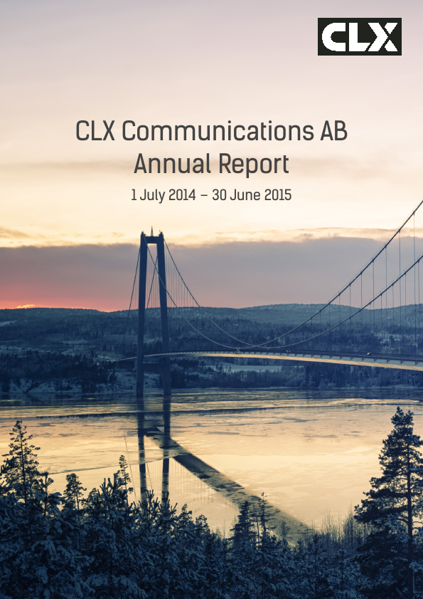 CLX Communications   annual report