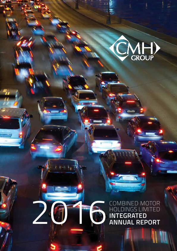 Combined Motor Holdings   annual report