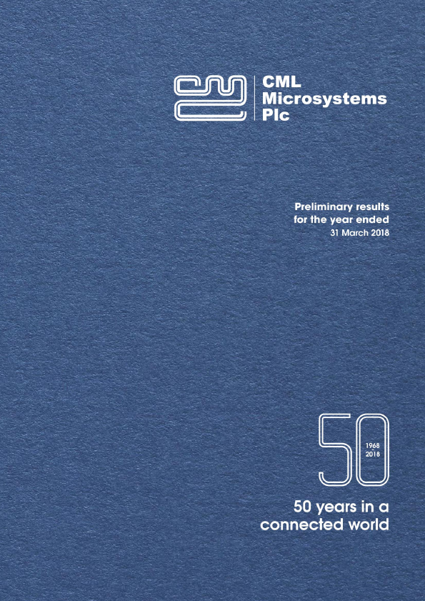 CML Microsystems   annual report
