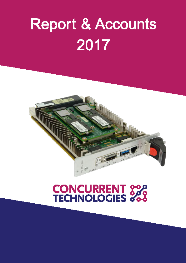 Concurrent Technologies   annual report