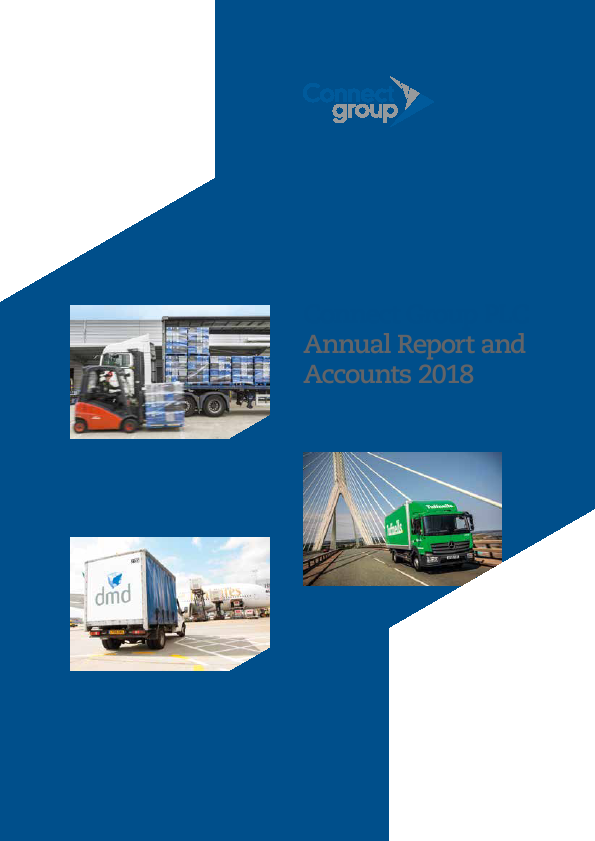 Connect Group Plc   annual report