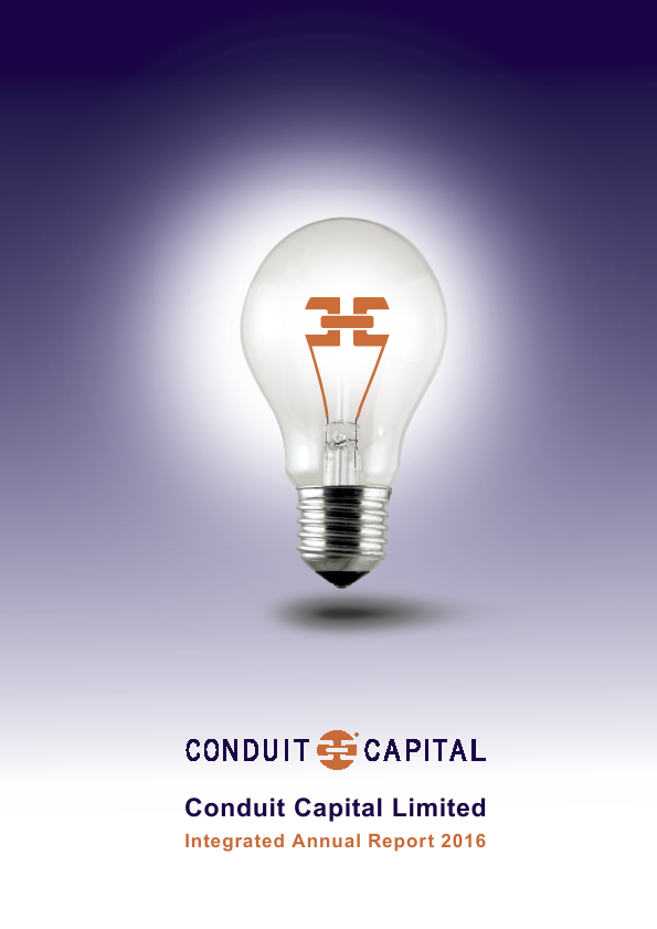 Conduit Capital   annual report