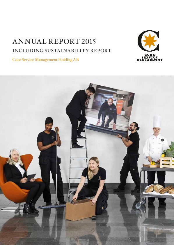 Coor Service Management Hold.   annual report