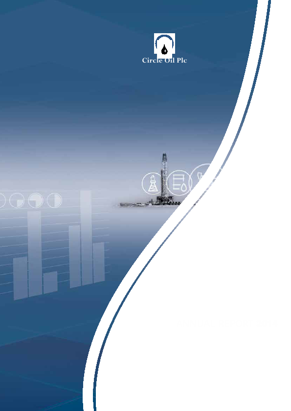 Circle Oil   annual report
