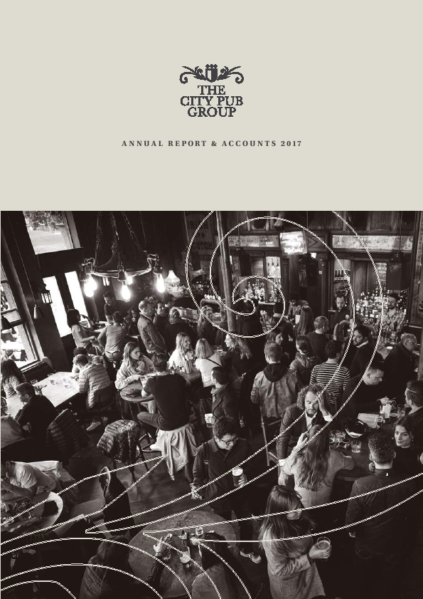 City Pub Group   annual report