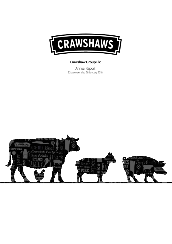 Crawshaw Group Plc   annual report