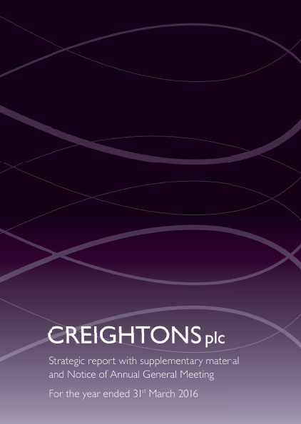 Creightons   annual report