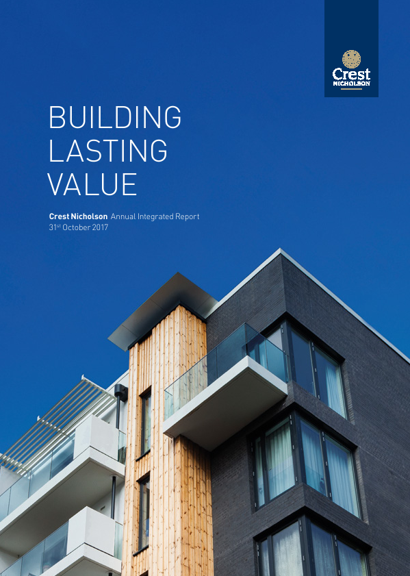 Crest Nicholson Holdings Plc   annual report