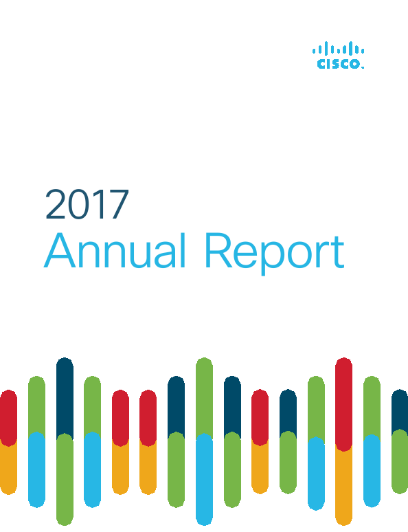 Cisco Systems, Inc.   annual report