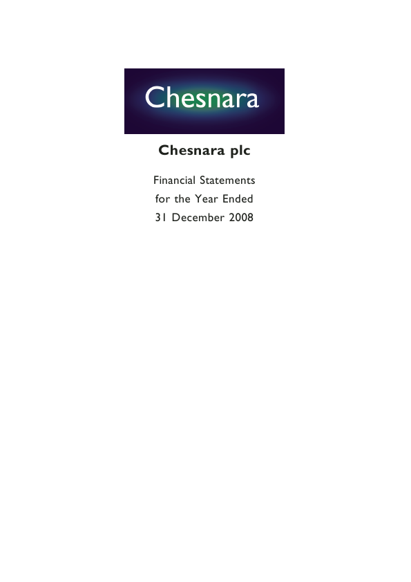 Chesnara   annual report