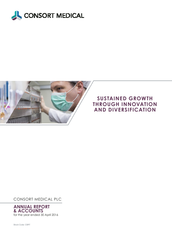 Consort Medical Plc   annual report
