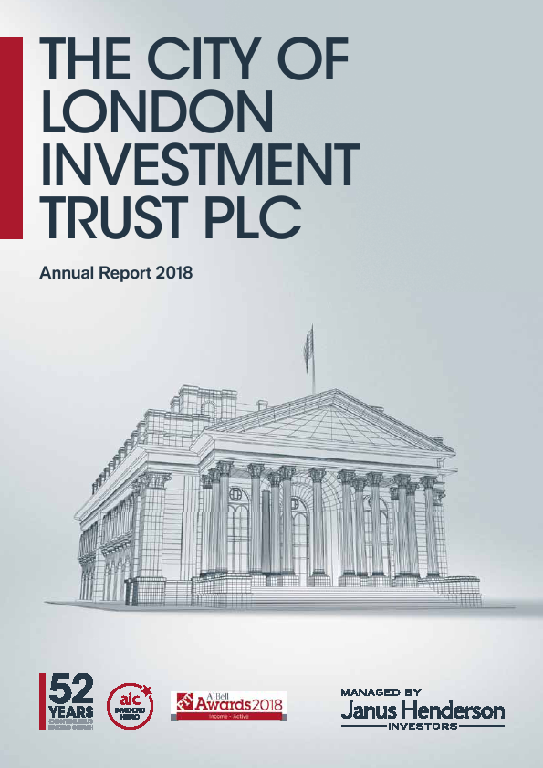 City Of London Investment Trust   annual report