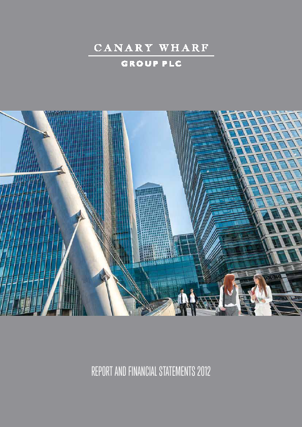 Canary Wharf Group   annual report