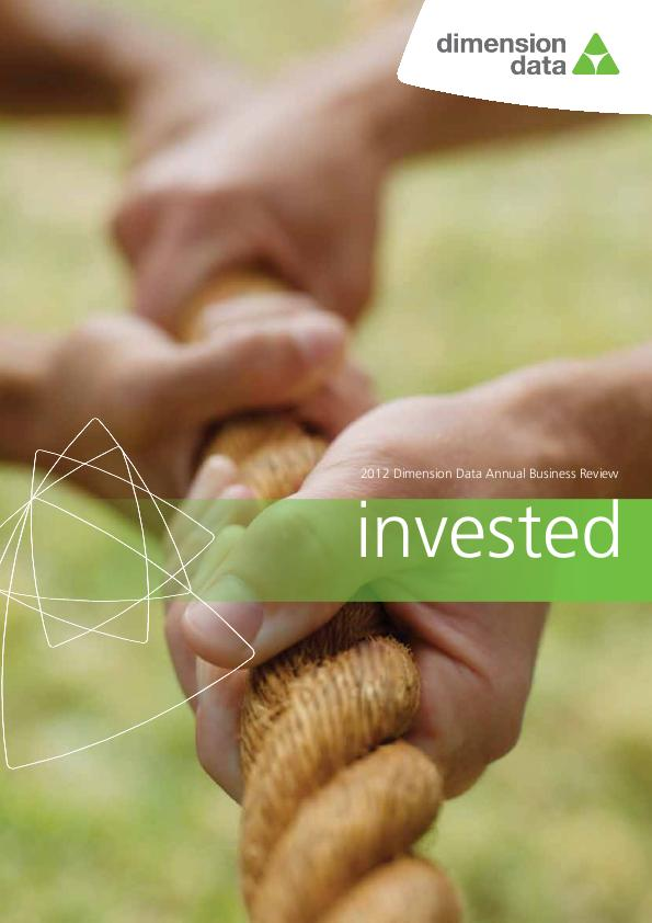 Dimension Data Holdings   annual report