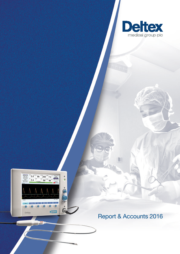 Deltex Medical Group   annual report