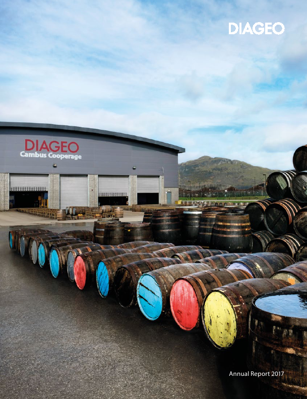Diageo   annual report