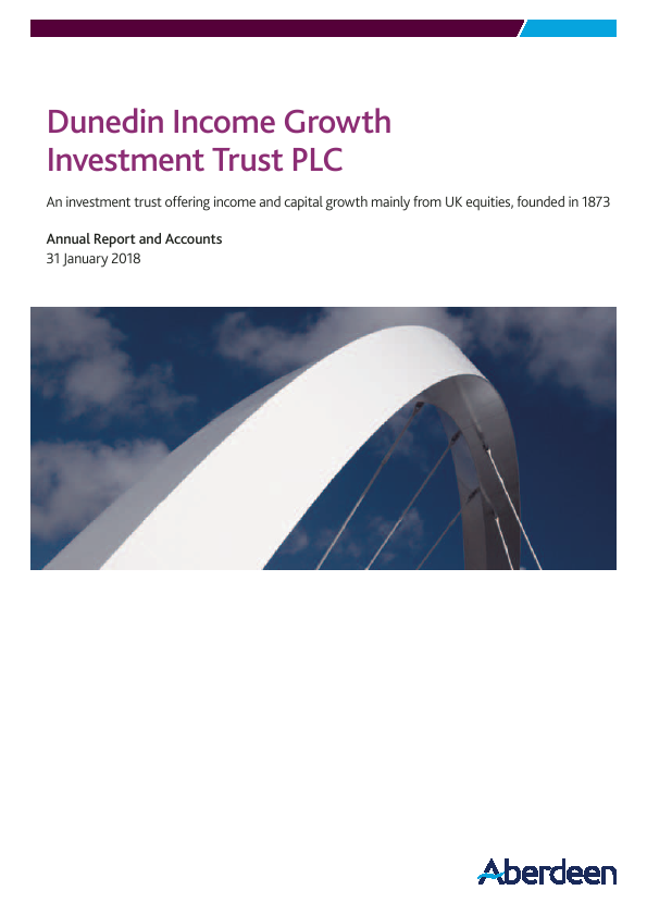 Dunedin Income Growth Invest Trust   annual report