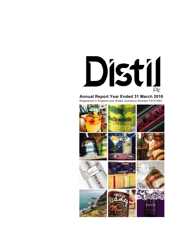 Distil Plc   annual report