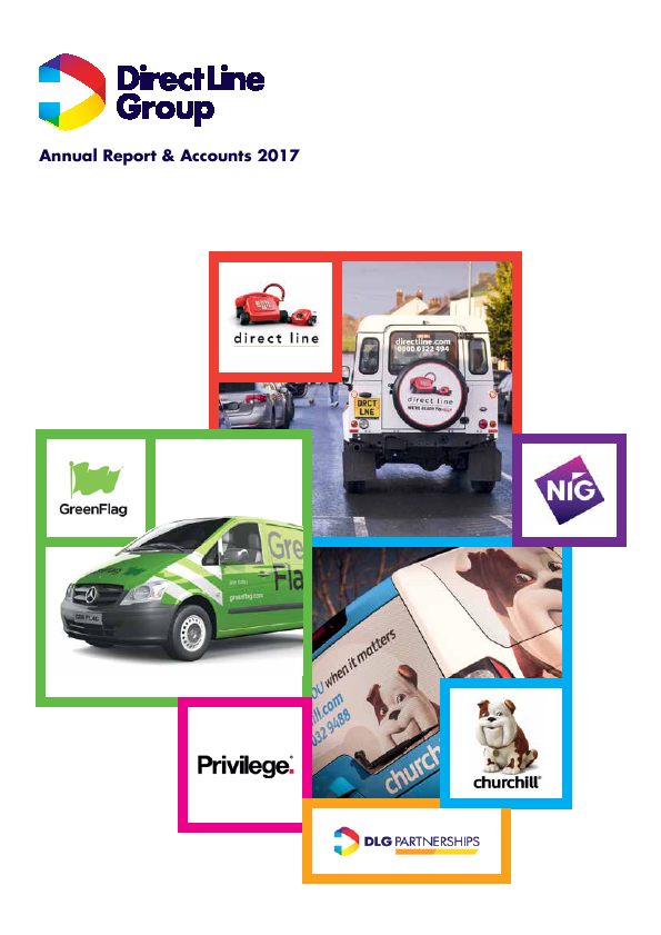 Direct Line Insurance Group Plc   annual report