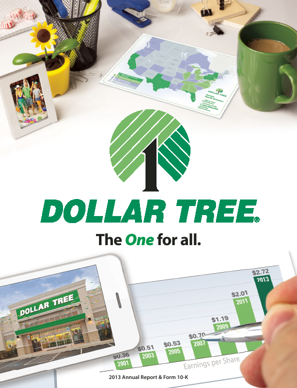 Dollar Tree Inc.   annual report