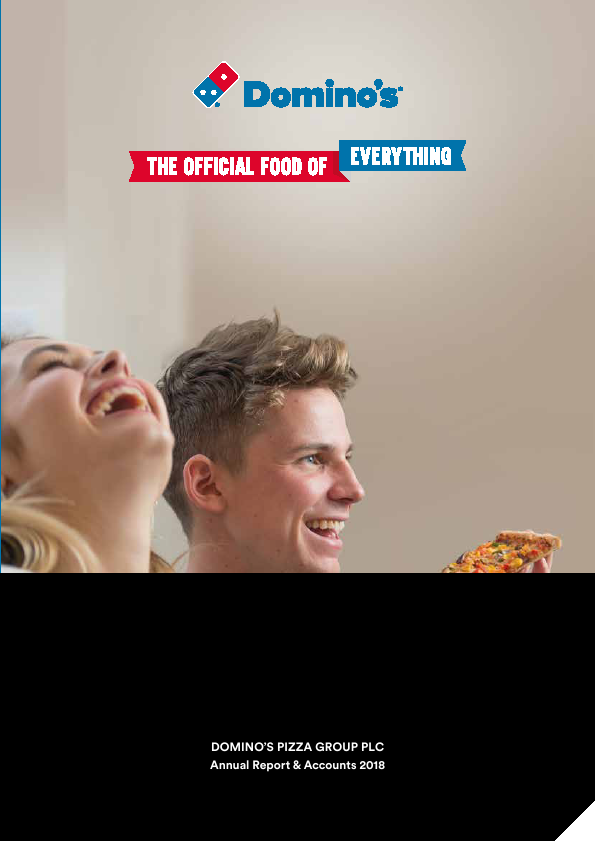 Dominos Pizza Group Plc   annual report