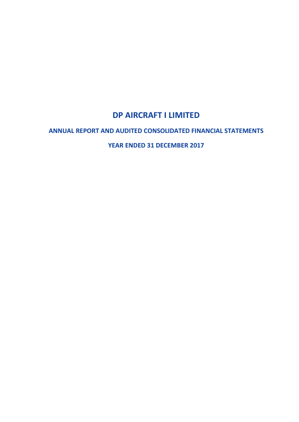 DP Aircraft I   annual report