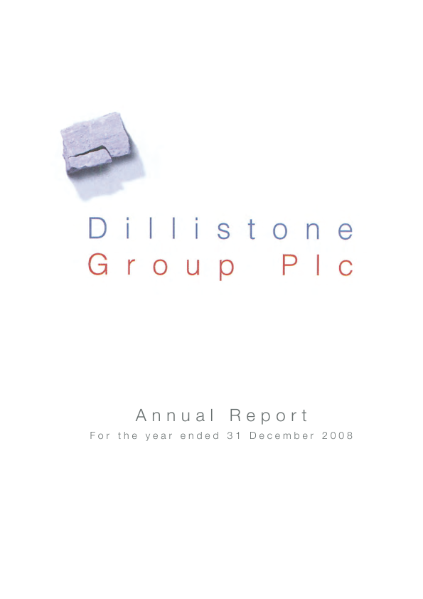 Dillistone Group   annual report
