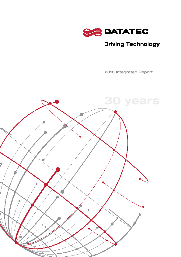 Datatec   annual report